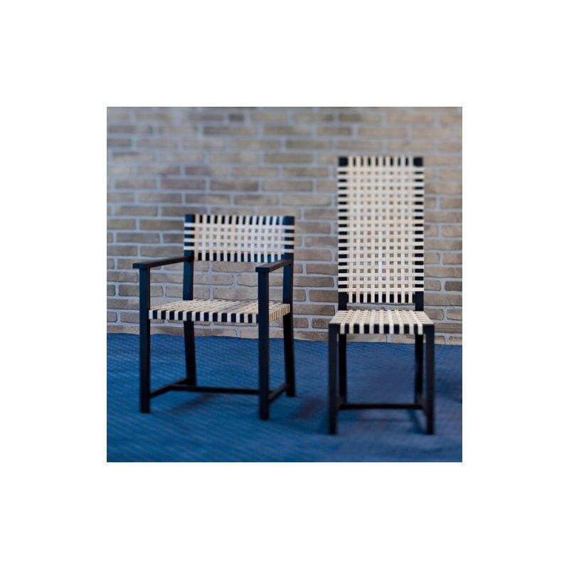 121 Stuhl / hohe Rückenlehne