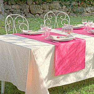 Elegante Tischwäsche von Garnier-Thiebaut