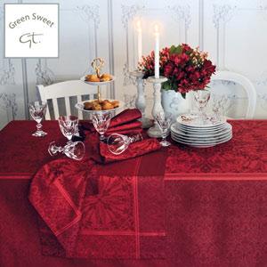 Garnier Thiebaut Tischwäsche mit Green Sweet Fleckschutz