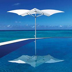 Tuuci - elegante und innovative Sonnenschirme