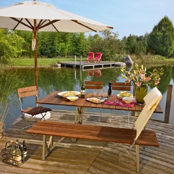 Weishäupl - exklusive Gartenmöbel und Sonnenschirme